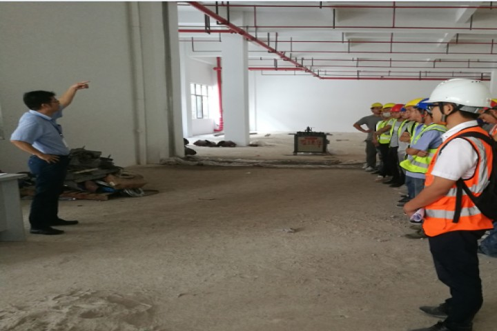 仲凯市场监督局三层档案室消防机电工程