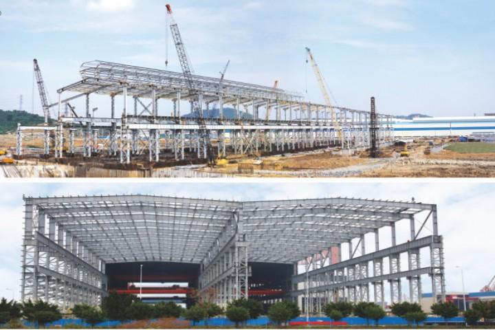 龙旗电子二期钢结构工程